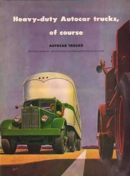 Autocar Trucks – Heavy-Duty – Sold (1947)