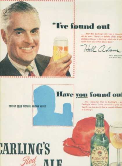 Carling's Red Cap Ale (1949)