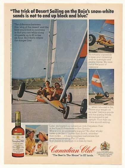 Desert Sailing Baja White Sands Canadian Club (1975)