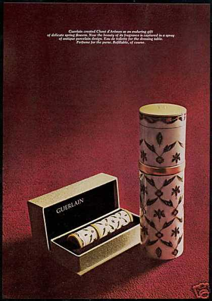 Guerlain Spray Chant d' Aromes Perfume Photo (1967)
