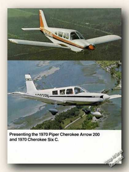 Piper Cherokee Arrow 200/six C Photos (1970)