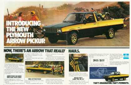 Mitsubishi Plymouth Arrow Pickup (1979)