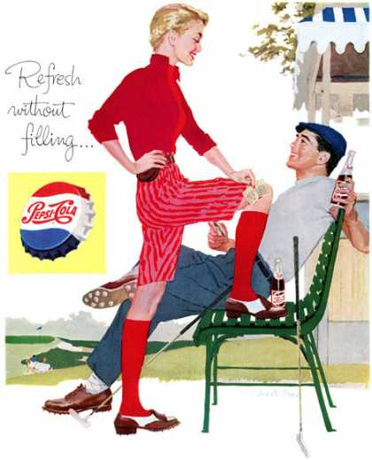 Pepsi-Cola, Joe de Mers (1957)