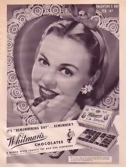Whitman's Chocolates – Valentine's Day (1945)