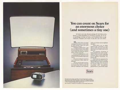 Sears Binoc TV Projection Television (1981)