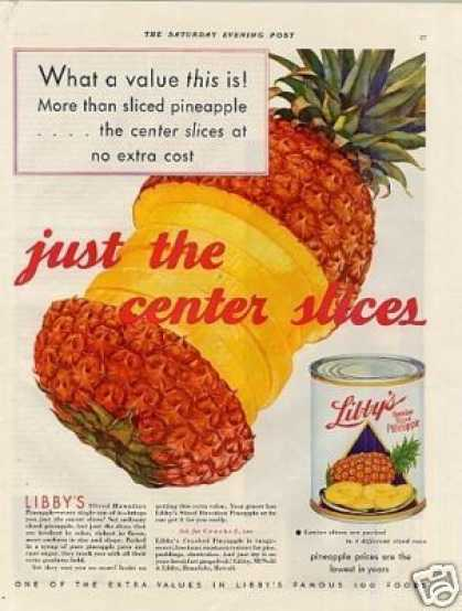 Libby's Pineapple (1932)