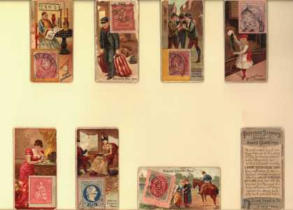 W. Duke Sons & Co.'s Duke's Cigarettes – Postage Stamps – Loose Cards