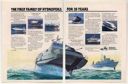 Boeing Hydrofoil Boats 25 Years 6 Photo (1983)
