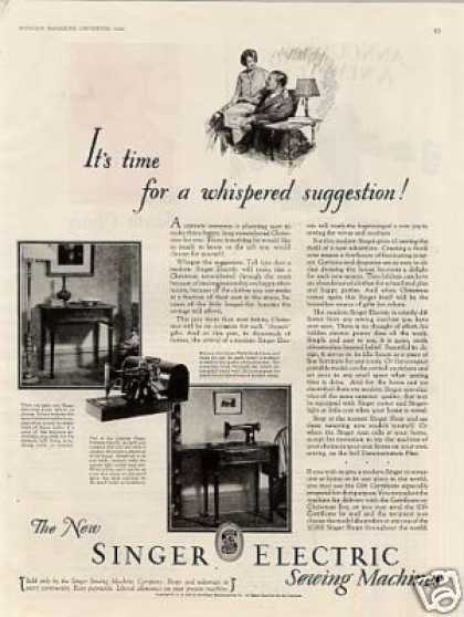 Singer Sewing Machine (1928)