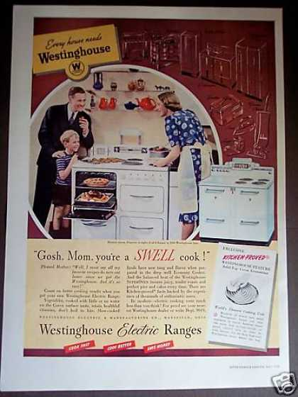 Westinghouse Electric Range Stove (1939)