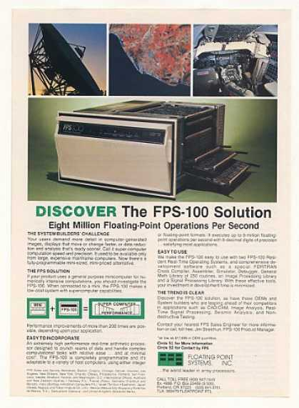 Floating Point Systems FPS-100 Computer (1981)