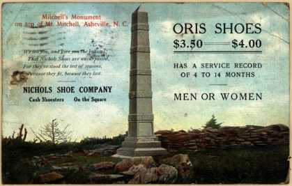 Nichols Shoe Co.'s Oris Shoes – Oris Shoes (1909)