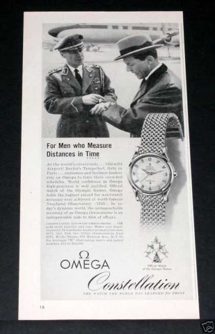 Old , Omega Watches Constellat (1957)