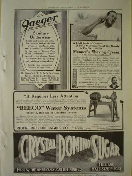 Crystal Domino Sugar AND Reeco Water systems (1913)