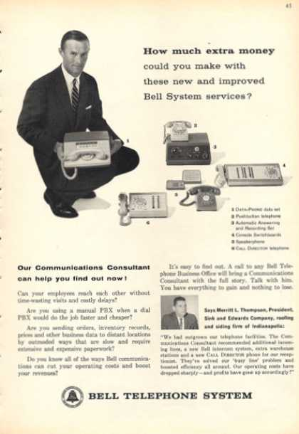 Bell Telephone Data Console Speaker (1962)