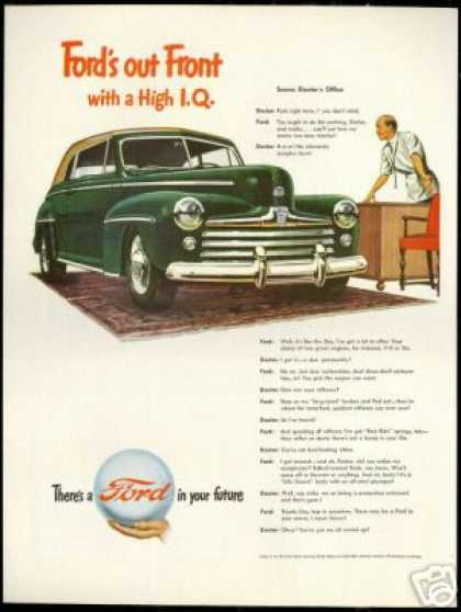 Ford Convertible High IQ Doctor Vintage Car (1947)