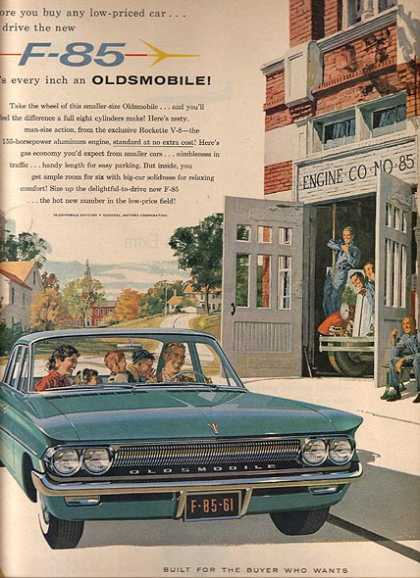 General Motor's Oldsmobile Cutlass (1961)