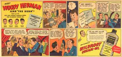 "Wildroot Company's Cream Oil – Meet Woody Herman and ""The Herd"" (1946)"