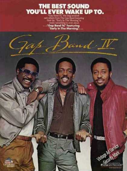 Gap Band Iv Nice Group Photo Album (1982)