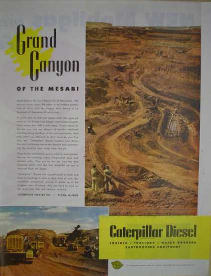 Caterpillar Diesel Grand Canyon of the Mesabi (1946)