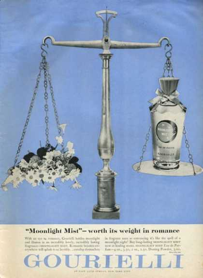 Gourielli Moonlight Mist Fragrance (1952)