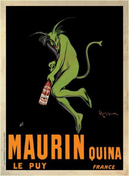 Maurin Quina, ca by Leonetto Cappiello (1920)