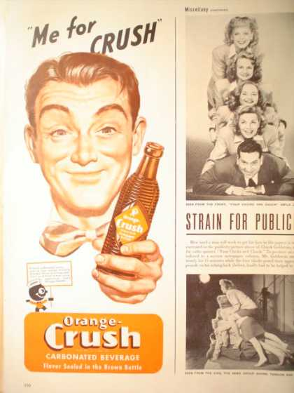 Orange Crush Pop Soda (1947)