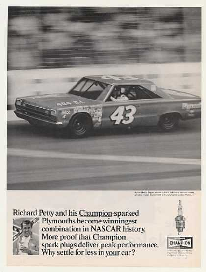 Richard Petty #43 Plymouth Darlington Champion (1967)