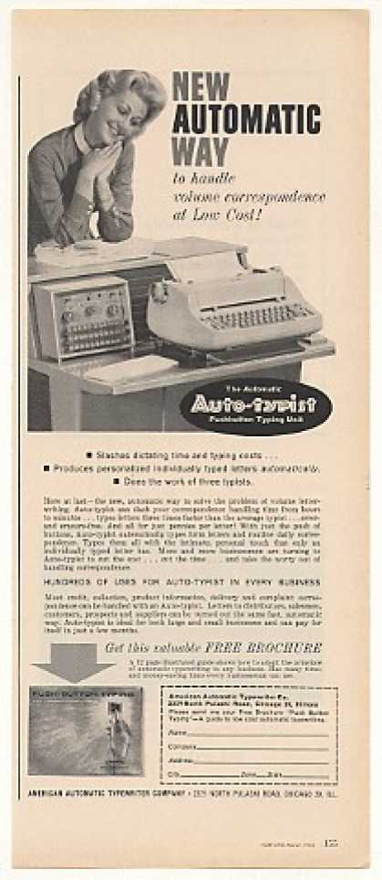 American Automatic Typewriter Auto-typist (1963)
