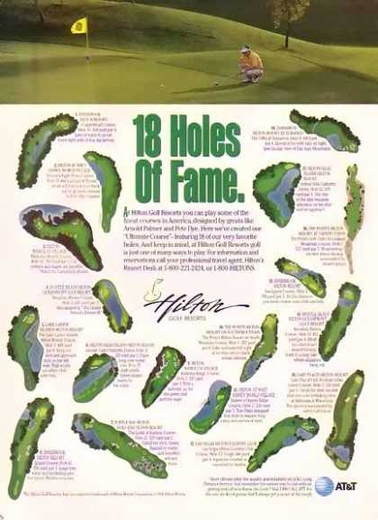 Hilton Golf Resorts -18 Holes of Fame (1996)