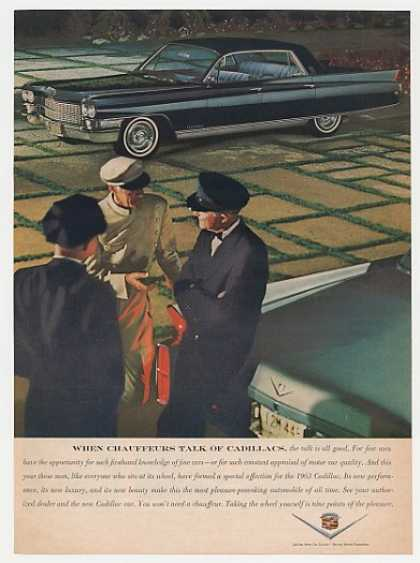 Black Cadillac Fleetwood When Chauffeurs Talk (1963)