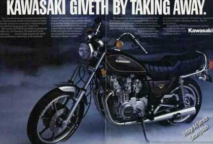 Kawasaki Kz750ltd Photo Collectible Motorcycle (1981)