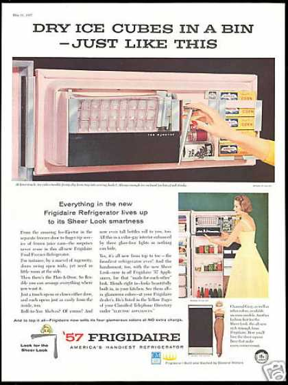 GM Frigidaire Refrigerator Ice Ejector Pink (1957)