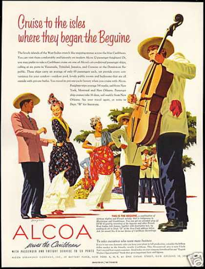Caribbean Beguine Band Alcoa Steamship Co (1954)
