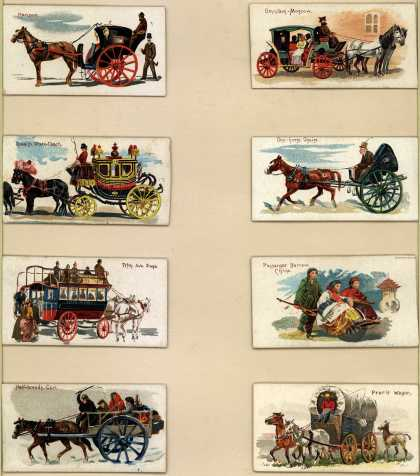 W. Duke Sons & Co.'s Duke's Cigarettes – 50 Vehicles of the World – Image 1