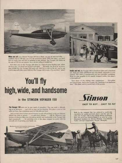 Stinson Easy To Buy Easy To Fly (1946)