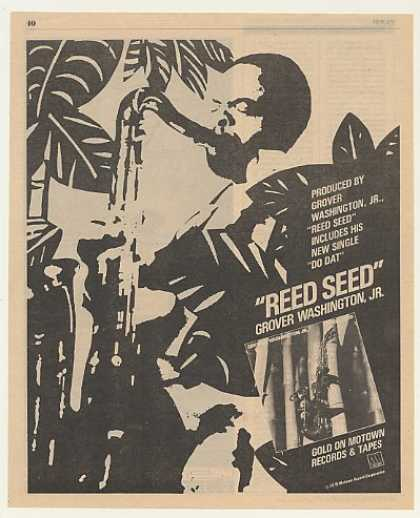 Grover Washington Jr Reed Seed Motown (1979)