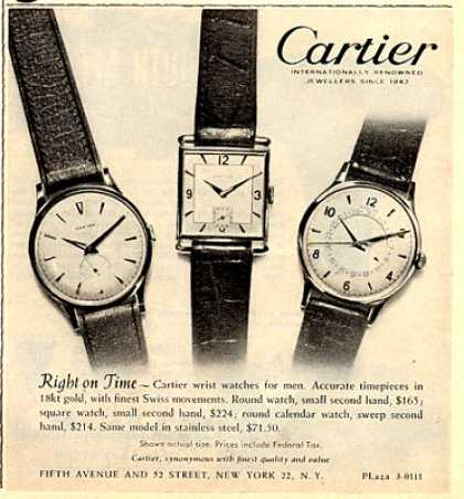 Cartier Watch (1953)