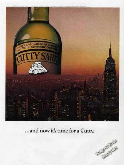 "Cutty Sark Evening In Nyc ""..and Now It's Time"" (1975)"