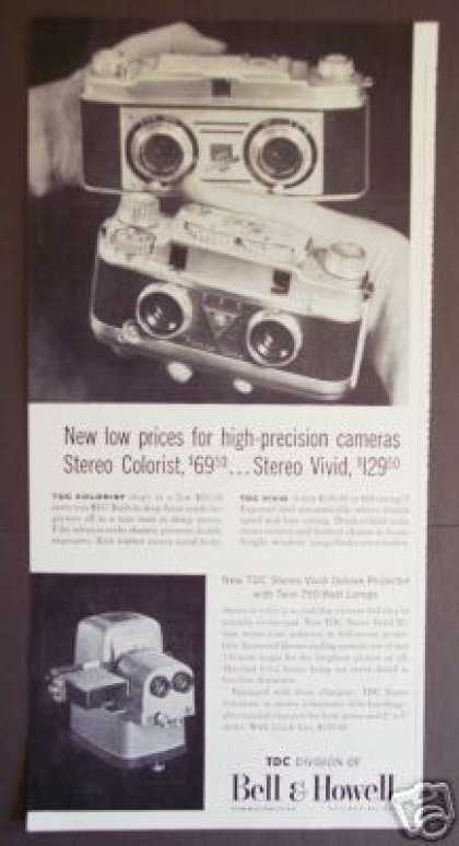 Bell & Howell Twin Lens Colorist Camera Photo (1956)