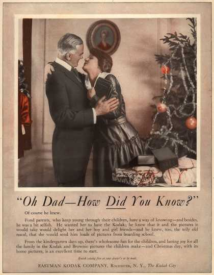 "Kodak – ""Oh Dad – How Did You Know?"" ""Oh Dad – How Did You Know?"" (1917)"