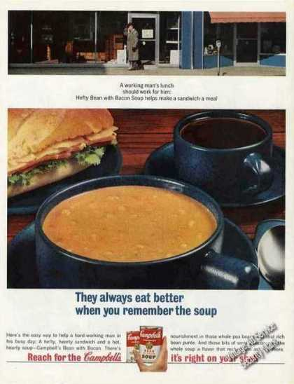 Campbell's Bean With Bacon Soup Collectible (1965)