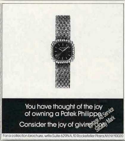 Patek Philippe Wristwatch Photo (1977)