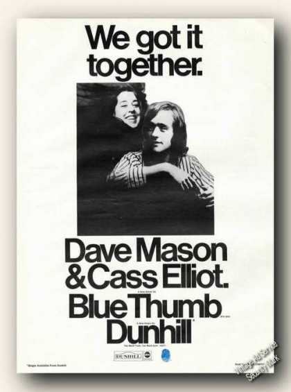 Dave Mason/cass Elliot Photo Album Promo (1971)