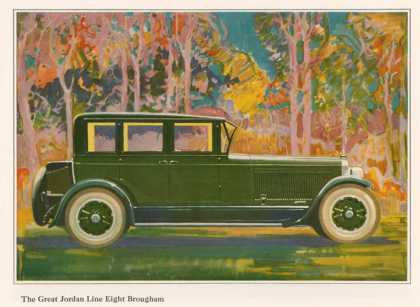 Brougham Car, USA (1925)