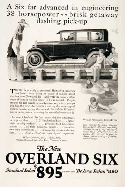 Willys Overland Six Sedan (1925)