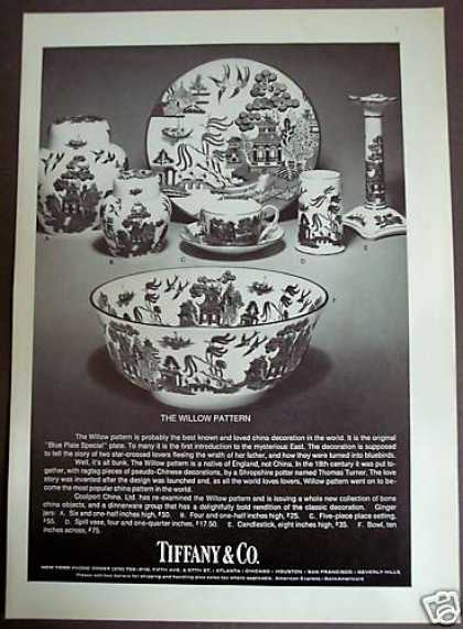 Tiffany &amp; Co. Willow Pattern China (1975)