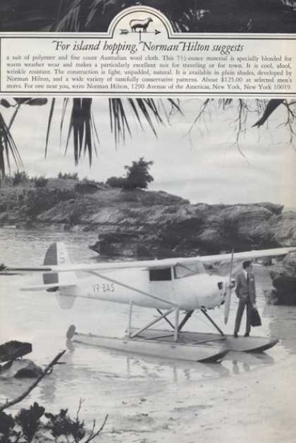 Norman Hilton Suit Float Plane (1965)