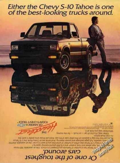 Chevrolet S-10 Tahoe Collectible Truck (1989)