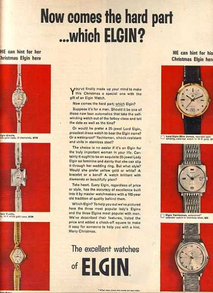 Elgin's Watches (1966)